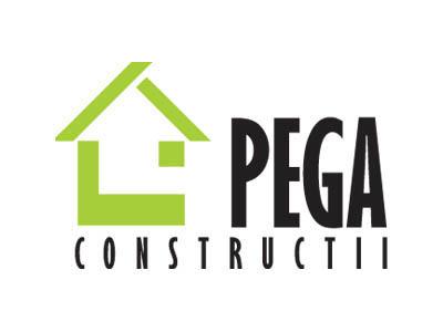 Pega Construcţii - Sigle, Grafic design