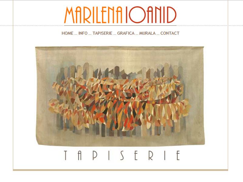 Marilena Ioanid - Site personal, Creare site web