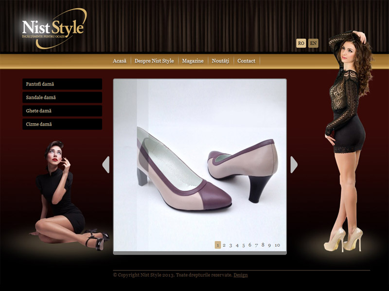Nistor Style - Catalog online, Creare site web