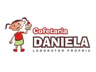 Cofetăria Daniela - Sigle, Grafic design