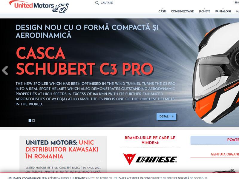 United Motors Magazin - Magazin online, Creare site web
