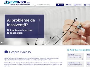 Evoinsol - Site de prezentare