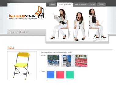 Inchirieri scaune - Catalog online
