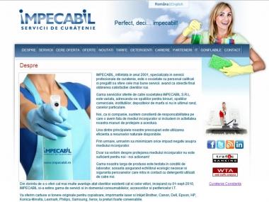 Impecabil - Servicii de curăţenie - Catalog online