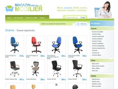 Magazinul de mobilă - Magazin online