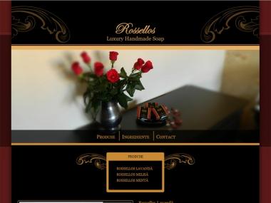 Săpunuri naturale Rossellos - Site de prezentare