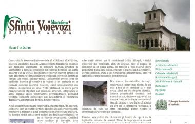 Mănăstirea Sfinţii Voievozi - Site de prezentare