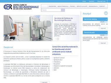 Spitalul de Reumatologie București - Site de prezentare