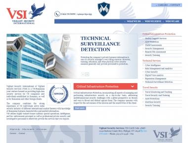 VSI Security - Site de prezentare