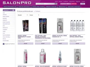 SalonPro - Magazin online