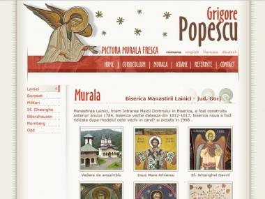 Grigore Popescu - pictura murală - Site personal