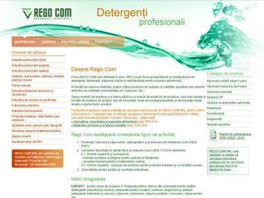 Regocom - Detergenti profesionali - Magazin online