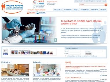Centrul Medical Matei Basarab - Site de prezentare