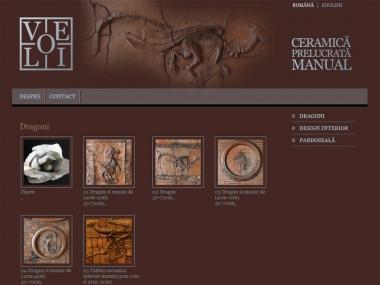 Ceramica Velio - Site personal