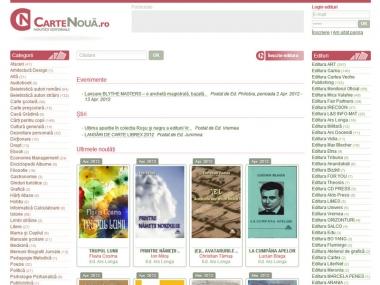 Carte Nouă - Portal de date
