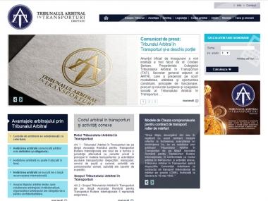 Arbitrans - Site de prezentare