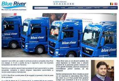 Blueriver - Site de prezentare